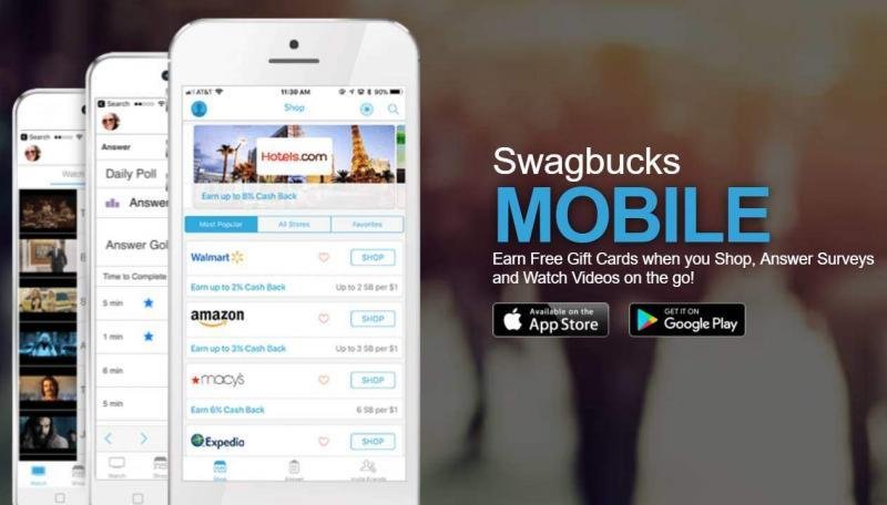 Entirely Money - Swagbucks Mobile Apps Iphone and Android