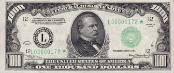 1000_USD_note_series_of_1934_obverse